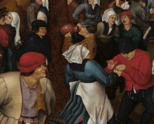 spot tv grafica animata Comune di Como - La Dinastia dei Brueghel