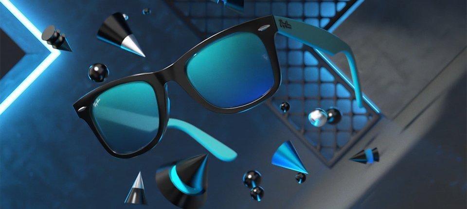 frame di 3D motion design animazione