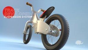 Rumble - Animazione 3D del copertone posteriore