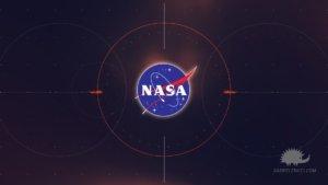 il logo nasa alla fine del promo tv