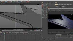 viewport 3D di cinema 4D