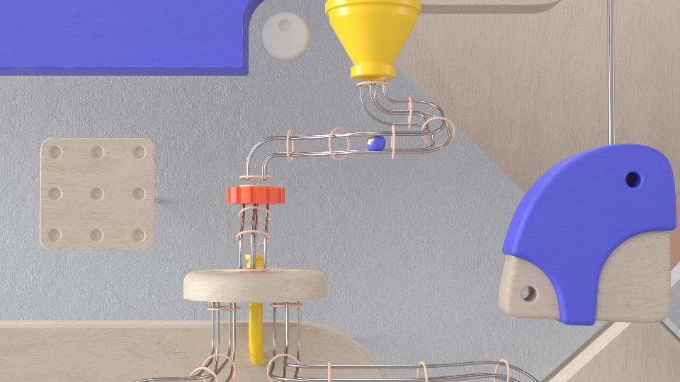 rube goldberg 3D motion