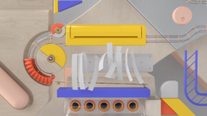 dynamic paper simulation