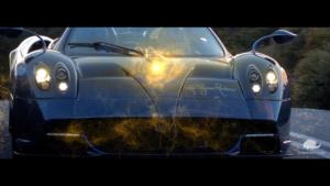Uso di visual effects nel campo dell'automotive.