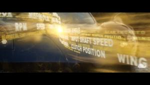 esempio di visual effects per un video di automotive.