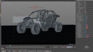 atv in grafica animata 3D